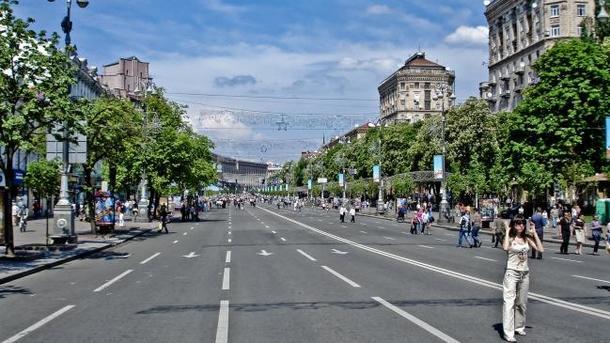 Празднества послучаю открытия «Евровидения» стартовали вКиеве