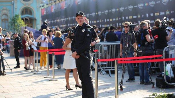 Наоткрытии «Евровидения» вКиеве нарушений небыло— милиция