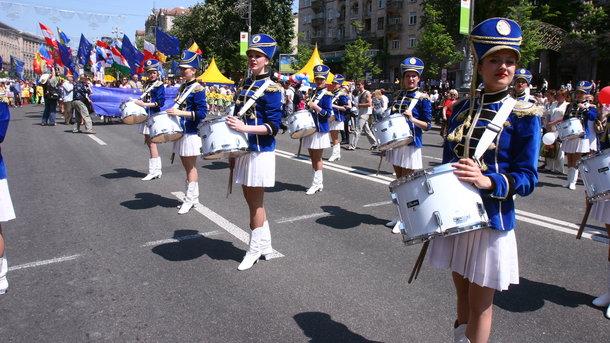 14мая отмечают День Европы вУкраинском государстве
