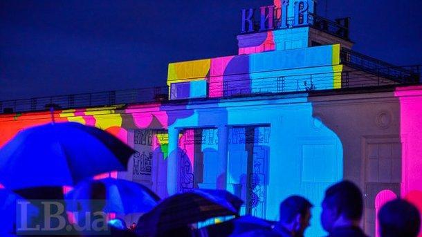 ВКиеве кЕвровидению стартует феерическое световое шоу