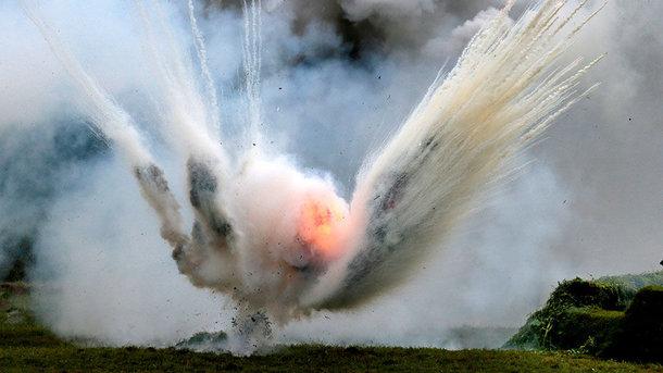 Взрыв навоенном полигоне вУкраинском государстве есть погибшие