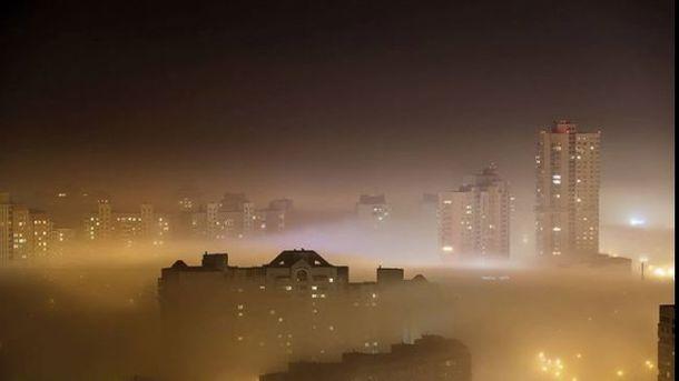 В Киеве может образоваться смог