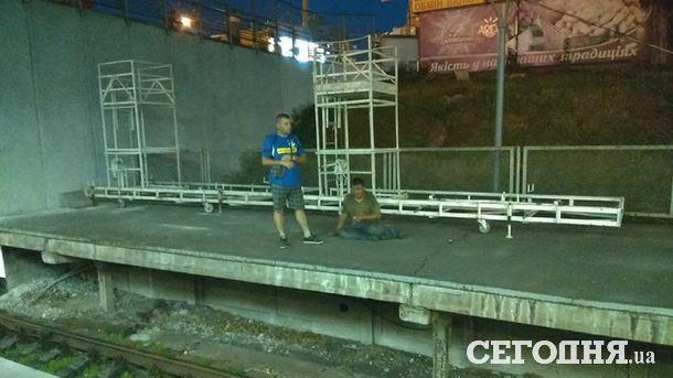В метро Киева останавливалось движение из-за пьяного пассажира