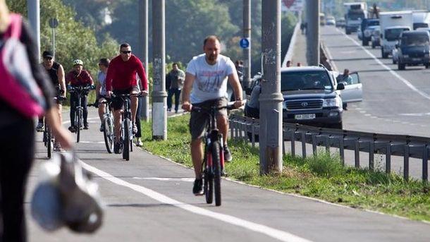 Ассоциация велосипедистов приглашает киевлян присоединиться к флешмобу