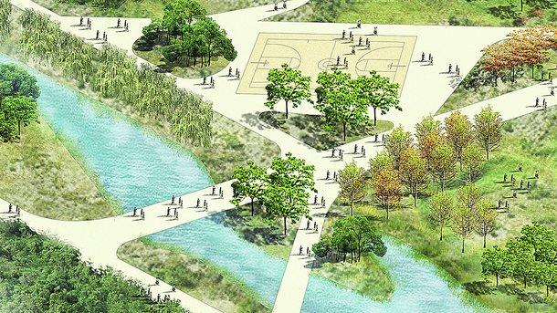 """Парк """"Почайна"""". Обустроят возле древней исторической реки"""