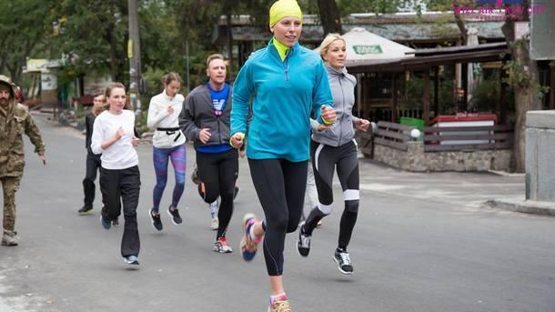 ВКиеве вовремя интернационального  марафона скончался  мужчина