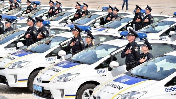 Милиция украинской столицы иобласти переведена наусиленный вариант несения службы