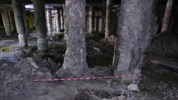 Раскопки наПочтовой площади вКиеве будут транслировать онлайн