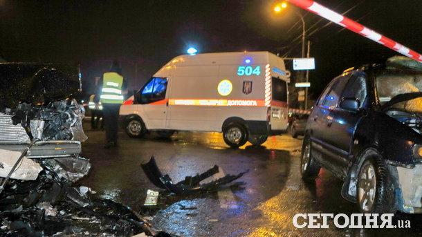 Подробности смертельного ДТП в Киеве: сотрудник сервисного центра МВД пытался скрыться