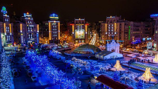 Где в Киеве появится новогодняя иллюминация