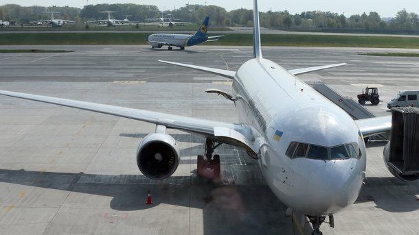 Самолет «Белавиа» изМинска сел ваэропорту Борисполь вштатном режиме— авиакомпания