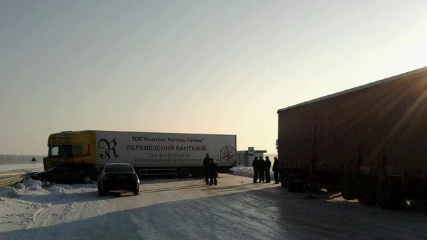 Сегодня вечером могут ограничить заезд фургонов встолицу Украины