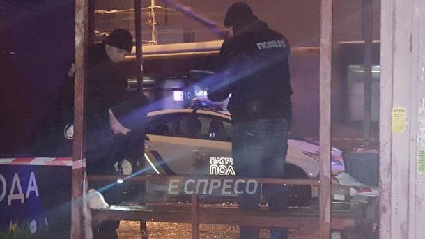 Место нападения на полицейских. Фото: Эспрессо