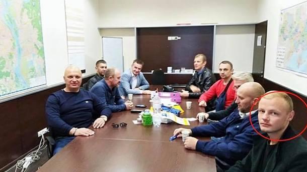 Мужчина совзрывчаткой вкиевском метро оказался товарищем Саакашвили— Шкиряк