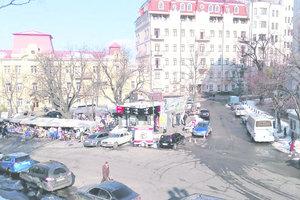 Торговцы сувенирами уйдут с Андреевского спуска до конца марта