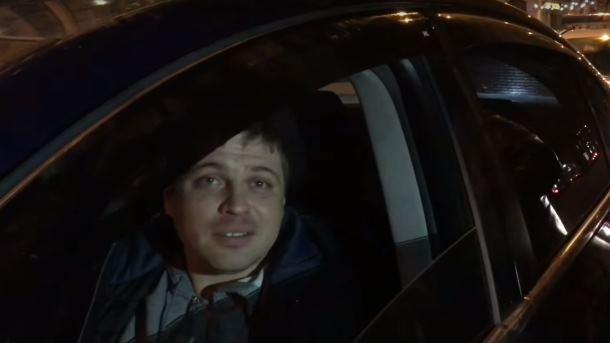 «Водитель спризнаками опьянения»: вКиеве дипломатическое авто РФ попало вДТП