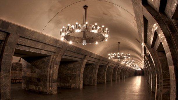 ВКиеве снова говорили о  минировании нескольких станций метро