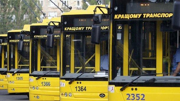 В Киеве изменится работа транспорта из-за ярмарки на Троещине (схема)