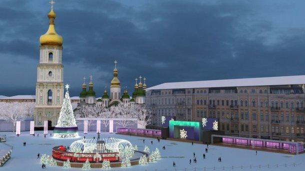 Софийская площадь. Оформят в элегантном, театральном стиле. Фото: И. Добруцкий
