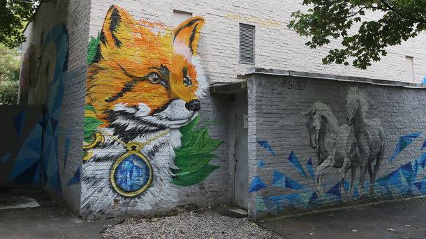 Прогулка по Киеву: в центре города ищем знаменитостей и незнакомку