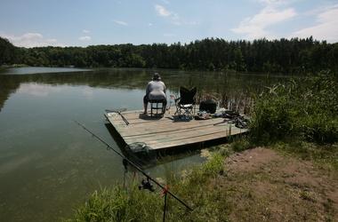 Рыбные места в Киеве и окрестностях