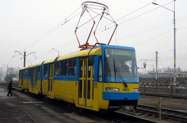 В киевских трамваях появился бесплатный Wi-Fi
