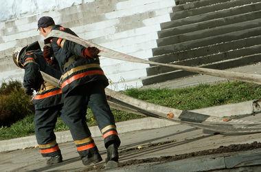 Фото детей с экскурсии пожарной части 26