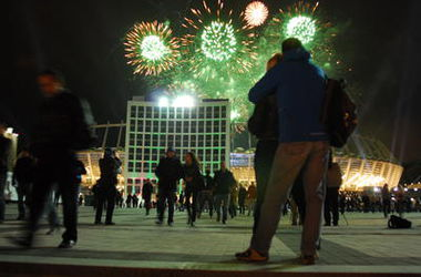 Киевлян призывают отказаться от салютов на Новый Год