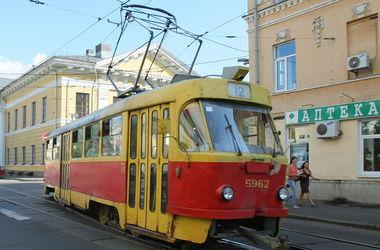 Сегодня в Киеве не ходят трамваи