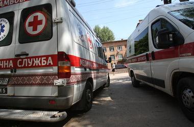 Девушка была доставлена в политравматологическое отделение одной из киевских больниц