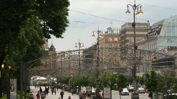 За год в Киеве многое изменилось