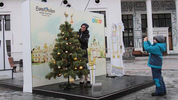 Символика. К конкурсу в Киеве установят необычные арт-обьекты и обновят туристическую навигацию