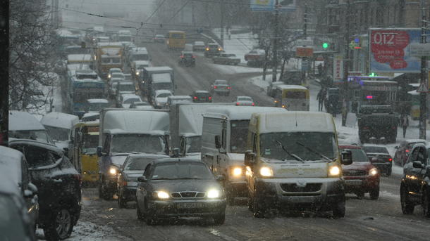 ВКиеве 7 и8января ожидаются сильные снегопады иметели