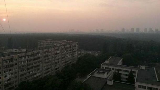 ВГСЧС накрывший Киев сумел пояснили метеорологическим явлением
