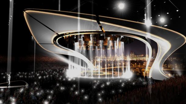 Стало известно, как будет выглядеть сцена Евровидения
