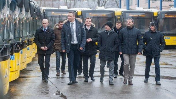 Вконце зимы вКиеве запустят 50 новых автобусов