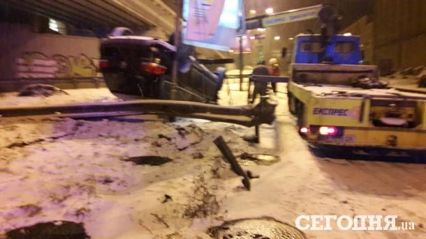 На Почтовой площади произошло ДТП
