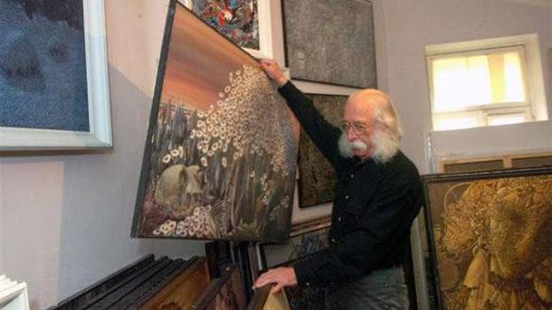 У популярного украинского художника Ивана Марчука украли неменее 100 картин