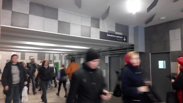 Обновленный вестибюль на«Левобережной» вКиеве откроют вчетверг