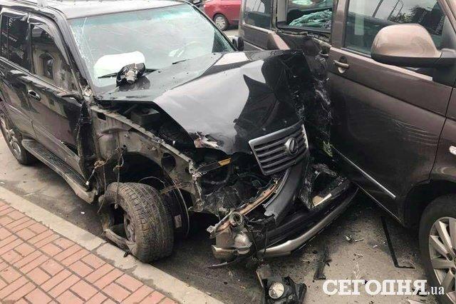 ВКиеве пьяный сотрудник НАБУ спровоцировал аварию
