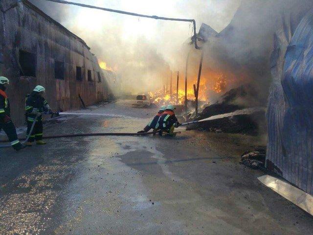 ВКиевской области вспыхнул сверепый пожар