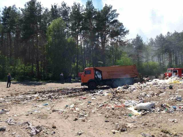 «Вонючий» пожар под Киевом: что происходит намусорной свалке