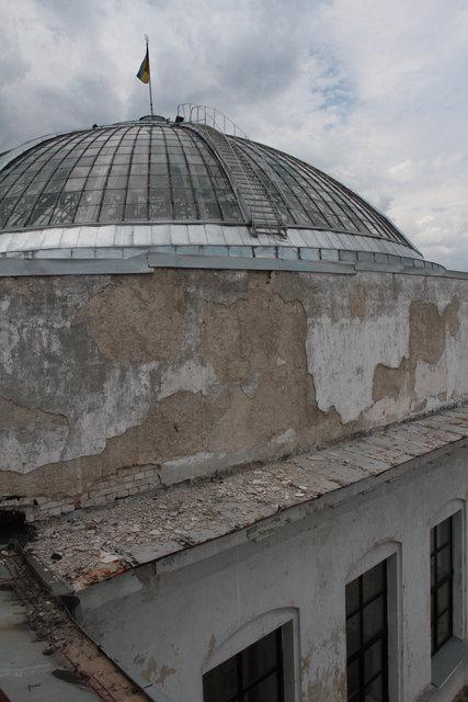 Купол. Последний раз ремонтировали в 2013 году