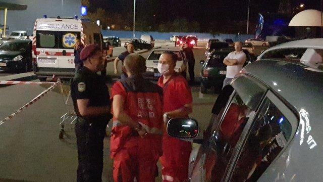Уторгового центра вКиеве изавтомата расстреляли мужчину