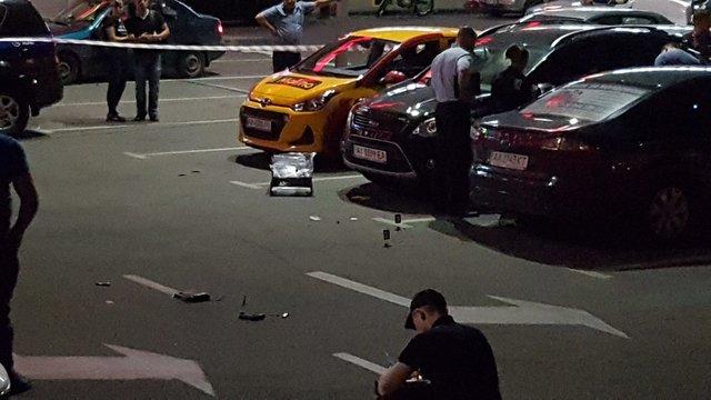 Убили мужчину вцентре столицы Украины