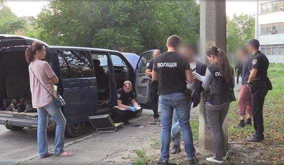 ВГолосеевском районе украинской столицы трое наавтомобиле похитили человека
