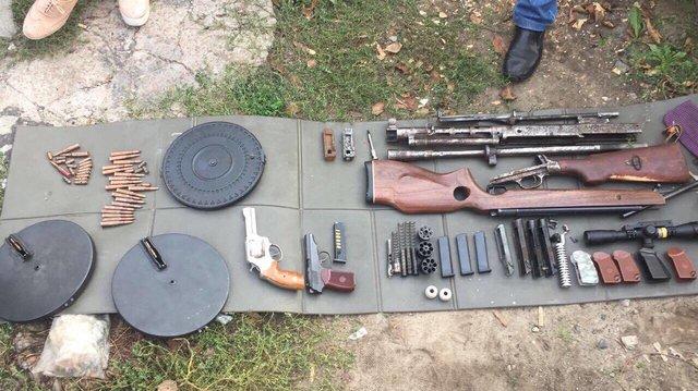 ВКиеве «накрыли» подпольную базу попроизводству оружия