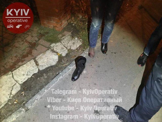 ВКиеве неизвестный стрелял вдевушку