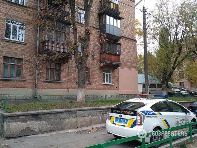 ВГолосеевском районе столицы Украины мужчина открыл стрельбу изокна жилого дома