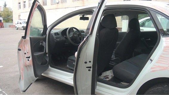 ВКиеве убийца таксиста разъезжал наего авто